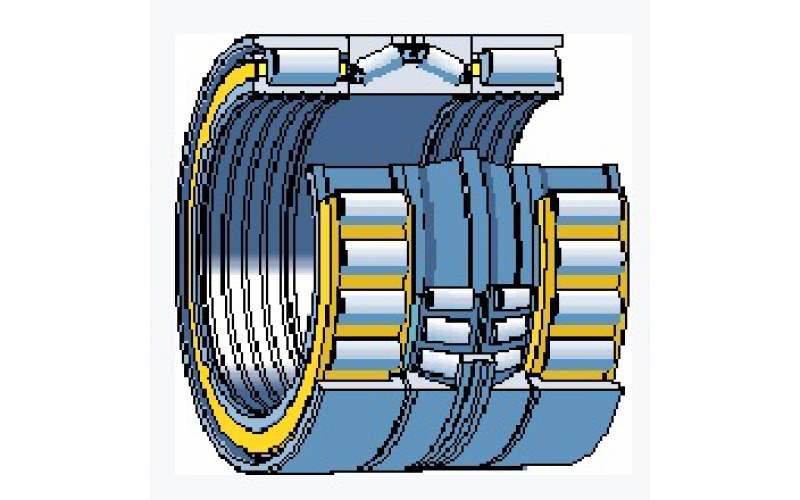 Combined Configuration of Rolling Mill Bearing