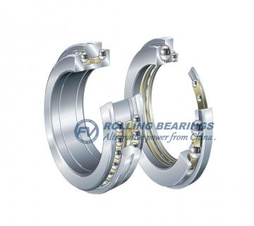 Double direction angular contact thrust ball bearings