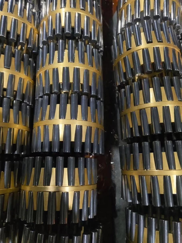 Cages of sendzimir beaings