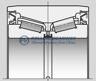 Sealed-Clean Bearings for Pallet Wheels-AR Series