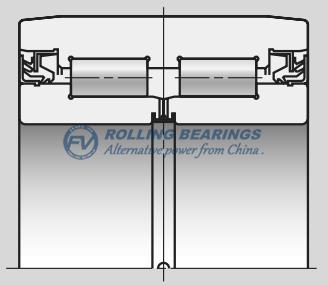 Sealed-Clean Bearings for Inboard Rollers-2J Series