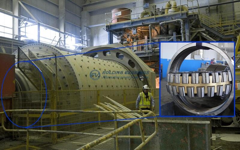 Pelletizing mills bearing - WWW.FV-BEARING.COM