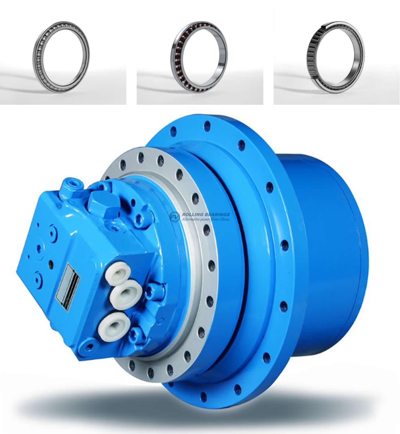 FV Bearings for Crawler wheel planetary reducer.  Excavator Crawler wheel planetary reducer bearings, Crawler crane wheel planetary reducer bearings