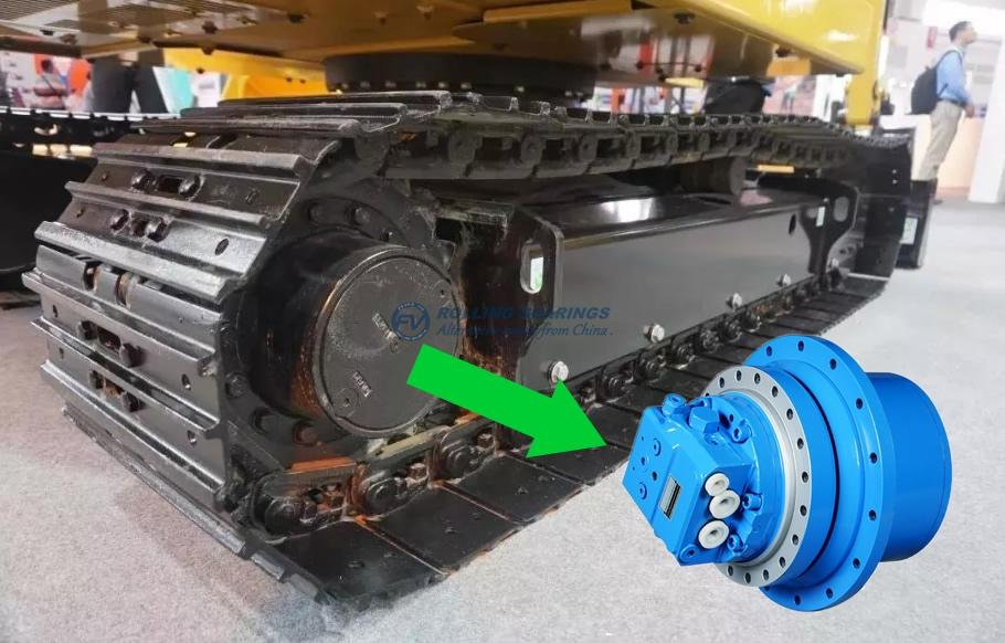 FV BALL Bearings for EXCAVATOR wheel planetary reducer
